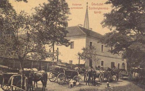 Székelykeresztúr:unitárius gimnázium.1908