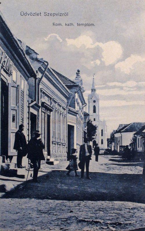 Szépviz:katolikus templom.1912