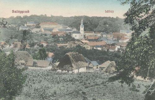 Szilágycseh:látkép.1909