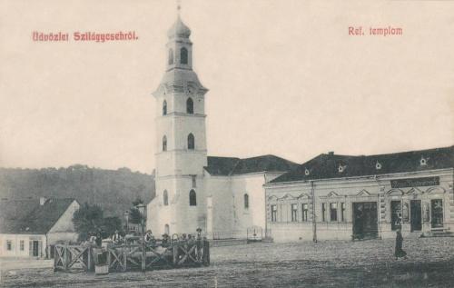 Szilágycseh:református templom.1908