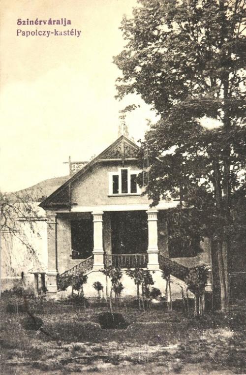 Szinérváralja:Papolczy kastély.1914