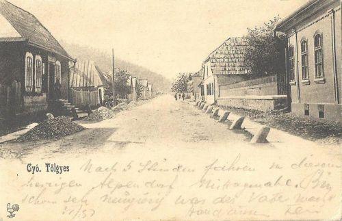 Gyergyótölgyes,ditrói út 1901