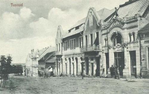 Tasnád:Hungária szálloda és kávéház.1918