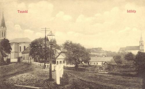 Tasnád:katolikus és református templomok,1909.