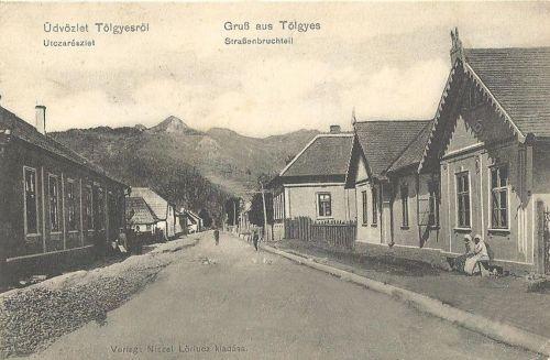 Gyergyótölgyes,ditrói út 1911