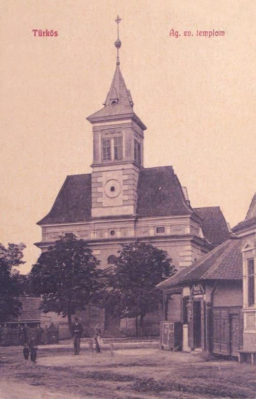 Türkös:evangélikus templom.1908