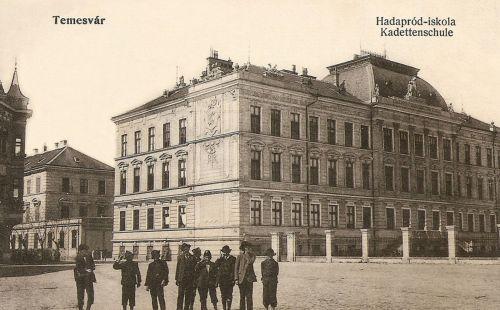 Temesvár:Hadapród iskola.1915