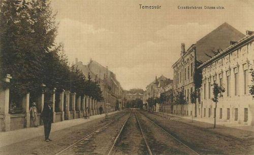 Temesvár:Erzsébetváros,Dózsa György utca.1912