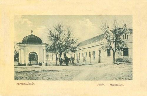Temesrékás:főtér.1912