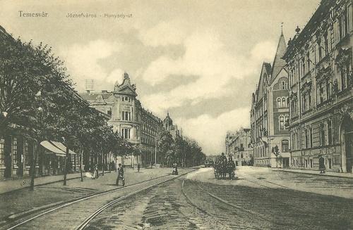 Temesvár:Józsefváros,Hunyadi út.1911