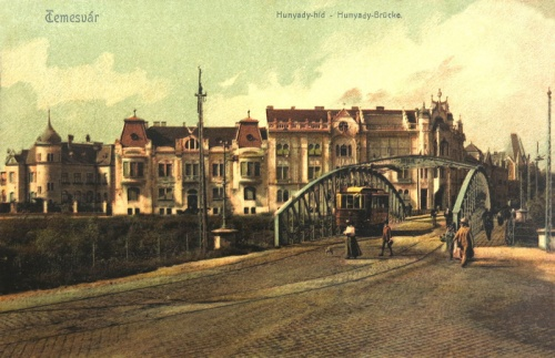 Temesvár:Hunyadi hid.1907