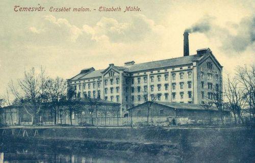 Temesvár:Erzsébet malom.1912