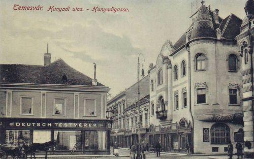 Temesvár:Hunyadi utca.1909