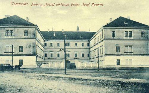 Temesvár:Ferencz József laktanya.1912