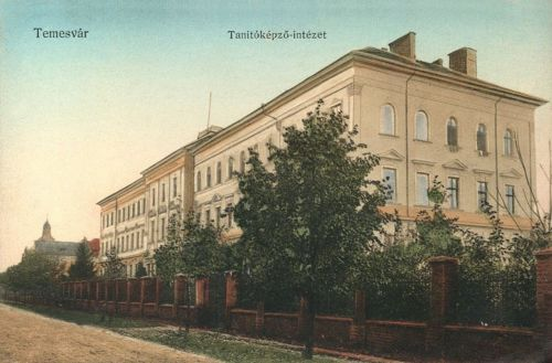 Temesvár:Tanitóképző intézet.1912