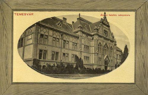Temesvár:Állami Felső Leányiskola.1911
