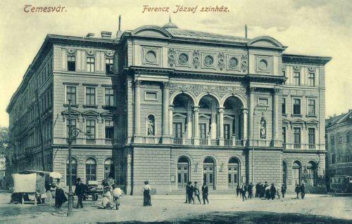 Temesvár:Ferencz József szinház.1911