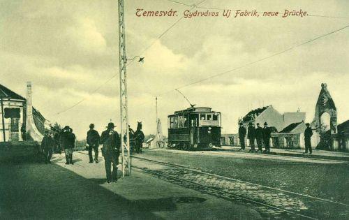Temesvár:Gyárvárosi új hid.1912