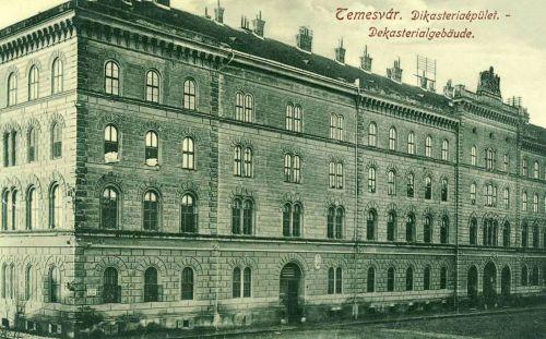 Temesvár:Dekasterial gebaude.1912