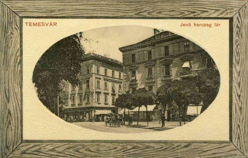 Temesvár:Jenő herceg tér.1912