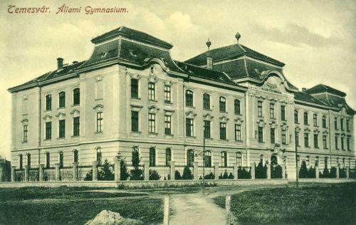 Temesvár:Állami Gimnázium.1912