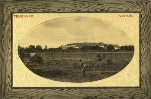 Temesvár:vár látképe.1912