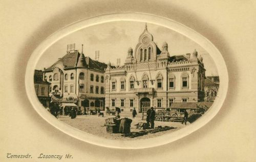 Temesvár:Losonczy tér.1912