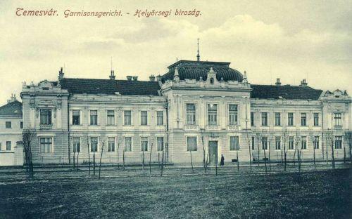 Temesvár:Helyörségi katonai biróság.1912