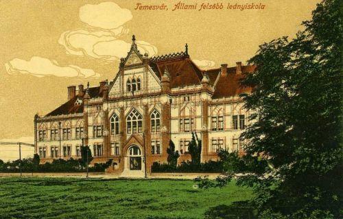 Temesvár:Állami Felső Leányiskola.1916