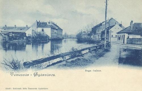 Temesvár:Gyárváros,Bega sor.1900