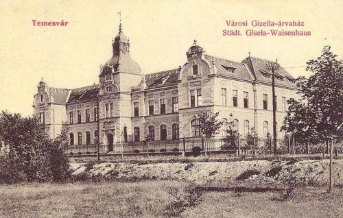 Temesvár:városi árvaház.1913