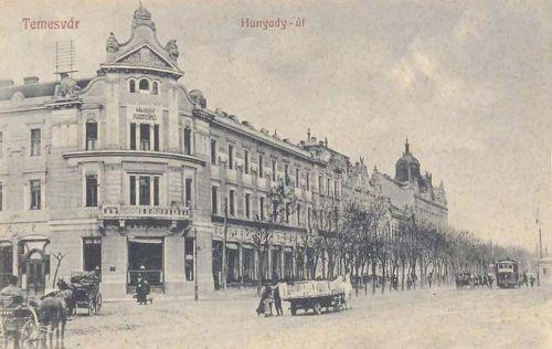 Temesvár:Hunyadi út.1914
