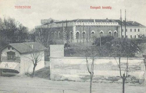 Temesvár:Hunyadi kastély.1908