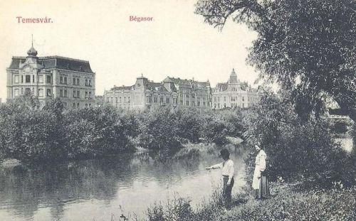Temesvár:Béga sor.1910