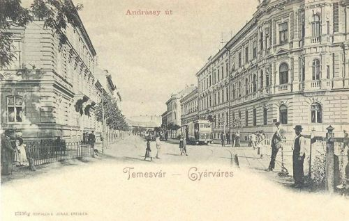 Temesvár:Gyárváros,Andrássy út.1900