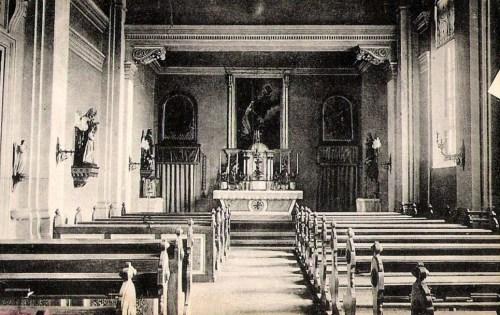 Temesvár,Iskola Nővérek Intézete:kápolna. 1911