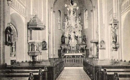 Temesvár,Iskola Nővérek Intézete:templom 1911
