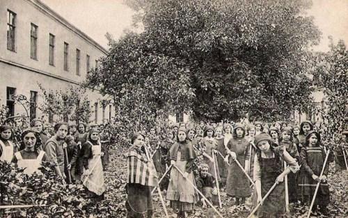 Temesvár,Iskola Nővérek Intézete:kertészet. 1911