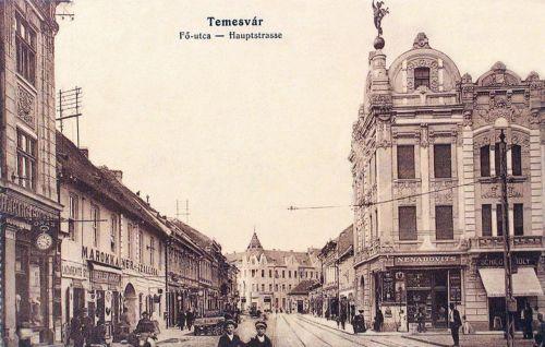 Temesvár:fő út.1916