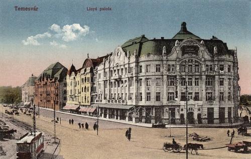 Temesvár:Lloyd palota.1913