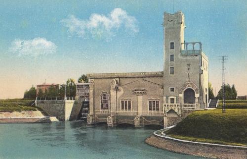 Temesvár:turbina.1913