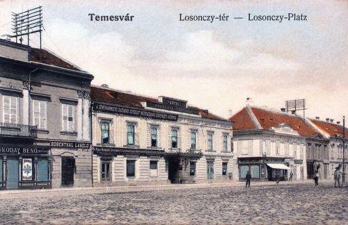 Temesvár:Losonczy tér.1908