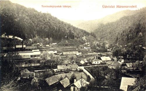 terebesfejérpatak:látkép.1909