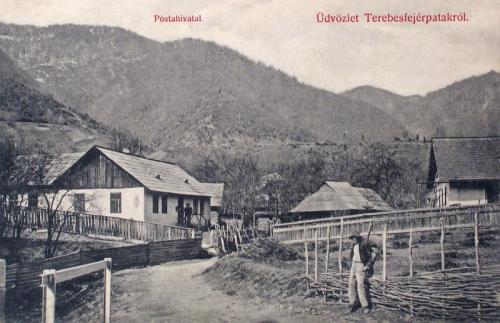 Terebesfejérpatak:posta.1908
