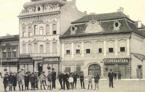 Mészárosok háza,Bányai-és Toldalaghi palota,1905.