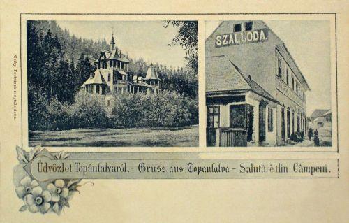 Topánfalva:Szálloda és villa.1903