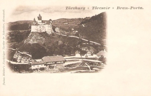 Törcsvár:vár látképe.1901