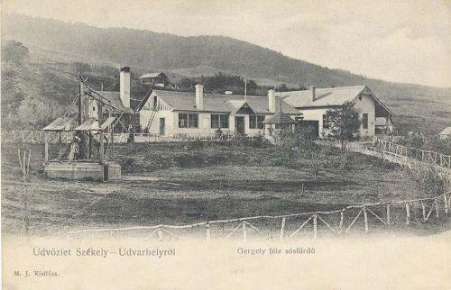Székelyudvarhely,Gergely sósfürdő 1904