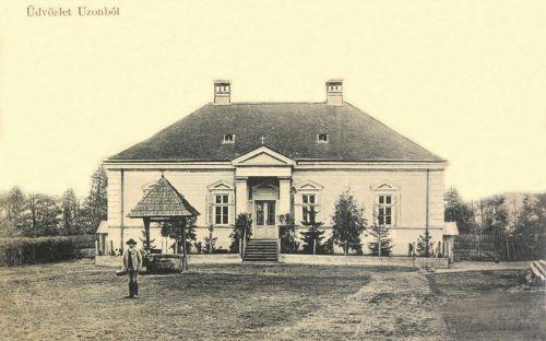 Uzon:Temesváry család kastélya.1910