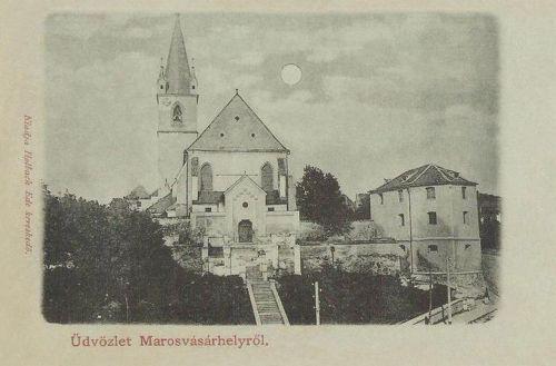 Marosvásárhely:református vártemplom.1900